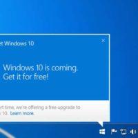 Werbung für Upgrade auf Windows 10 im Browser