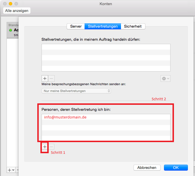 Read more about the article Apple OSX Mac: Freigegebene Postfächer in Outlook einbinden