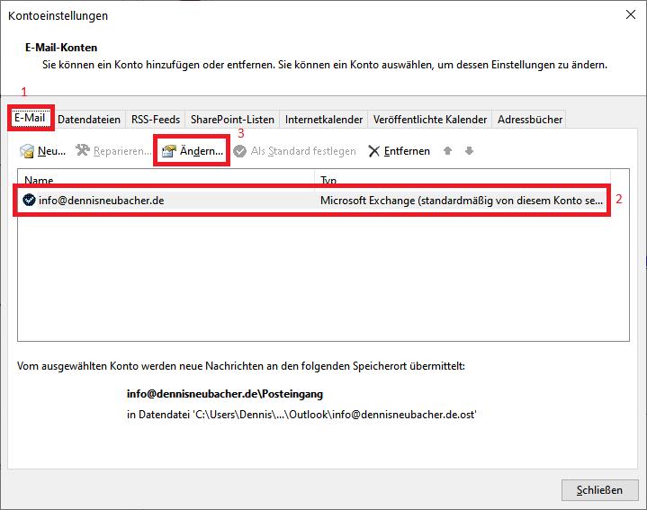 Read more about the article Windows 7, 8, 10: Freigegebene Postfächer in Outlook 2019 einbinden